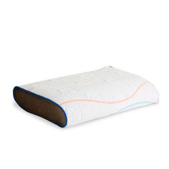 m line pillow you blauw