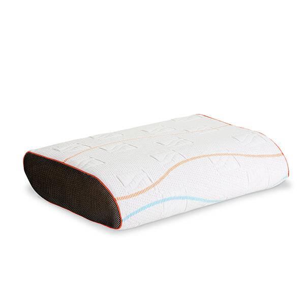 m line pillow you oranje