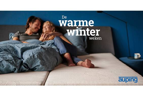 Auping winterpromotie 2020